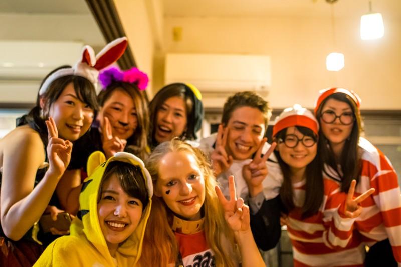10月29日(土)にハロウィンパーティーを行いました